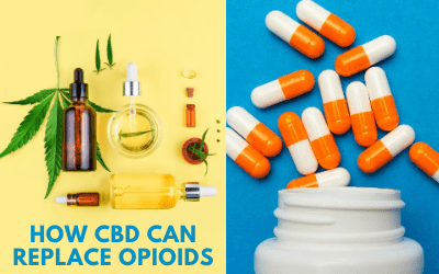 How CBD Can Replace Opioids