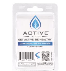 Active CBD Oil 99% CBD Isolate Hemp Powder