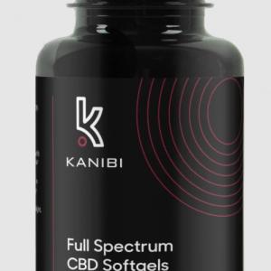 Kanibi CBD Full Spectrum Softgels