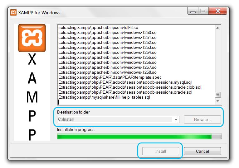 POUR 1.7.3 TÉLÉCHARGER WINDOWS XAMPP