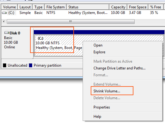 How To Shrink A Volume Or Partition In Windows Pureinfotech