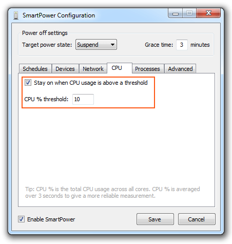 SmartPower - CPU
