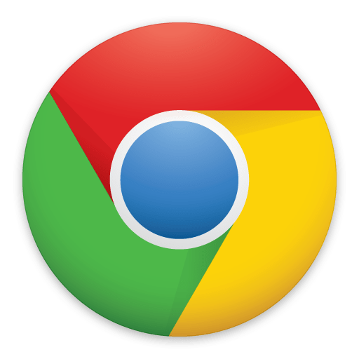 New Google Chrome Logo - Flat icon