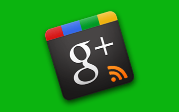 RSS Feeds from Google+ profiles