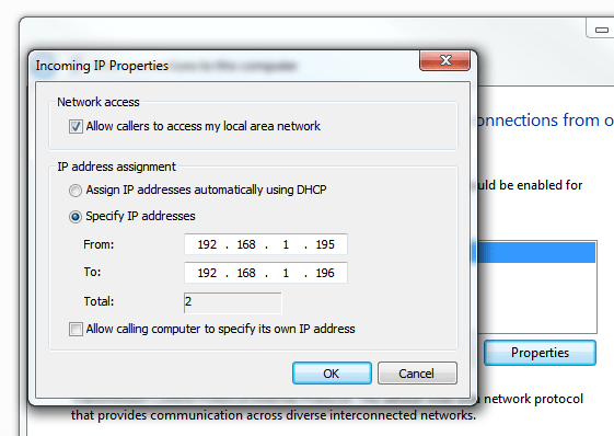 How to create a VPN server using Windows 7 built-in tool ...
