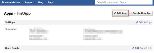 Remove Facebook Timeline - Edit App