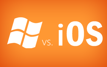 Windows 8 vs. iPad iOS 5