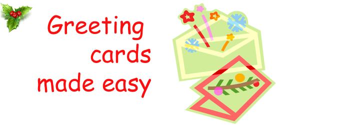 Holiday greeting cards - Christmas
