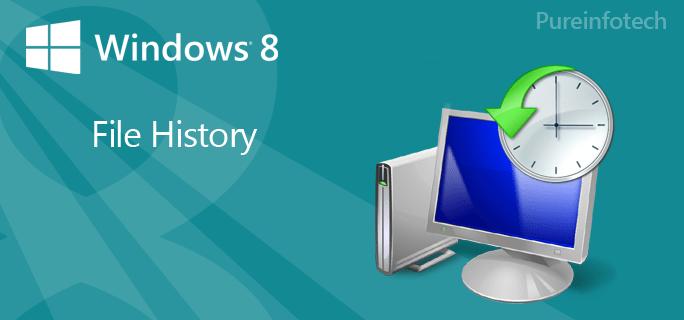 File History - Windows 8