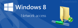 Share and access content home network Windows 8