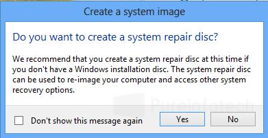 Bootable disc repair