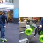 Steven Sinofsky skateboarding Microsoft's tablet