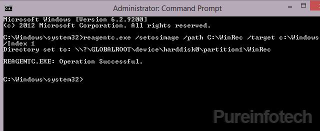 Reagentc command