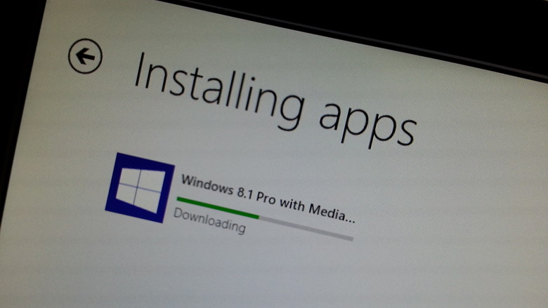 windows 8 upgrade to 8.1 without store