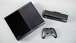 Xbox One complete system (console, kinect, and controller)