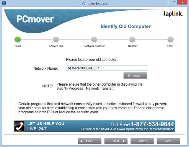 laplink pcmover image & drive assistant download