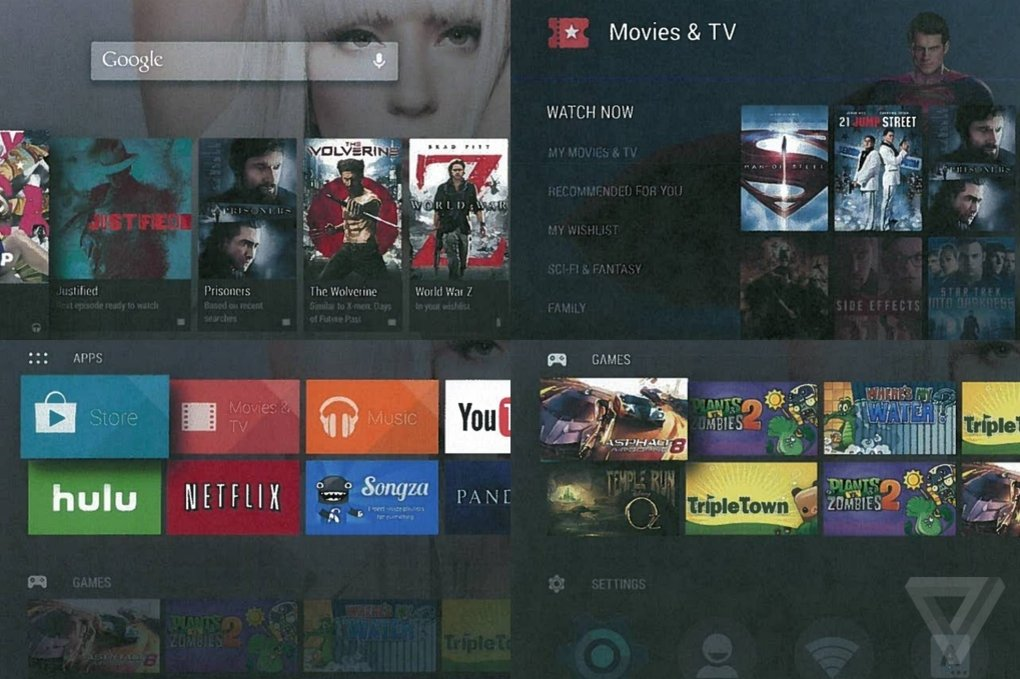 Android TV from Google