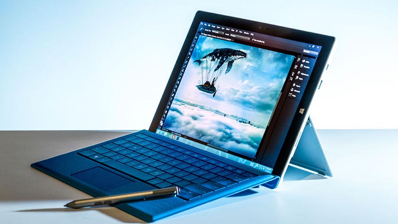 Surface Pro 3 with pen and Type Cover