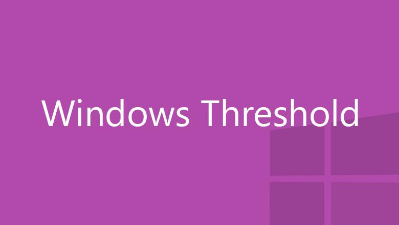 Windows Threshold purple logo