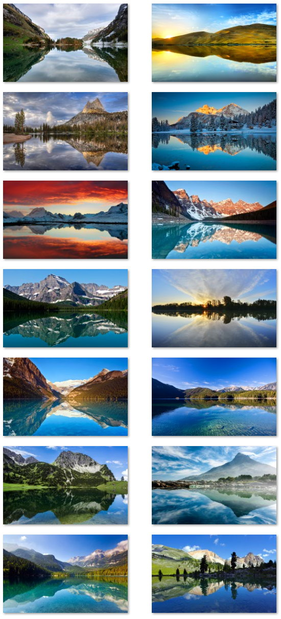 Reflections wallpapers for Windows