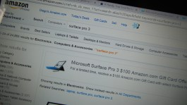 Surface Pro 3 Amazon deal