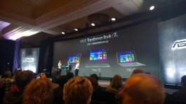 Asus Transformer Book Chi series at CES 2015