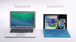 Mac vs PC (Surface Pro 3)