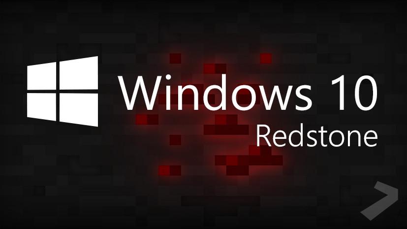 "Windows 10 ""Redstone"""