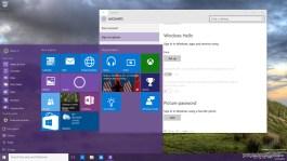 Windows Hello in Windows 10 build 10125