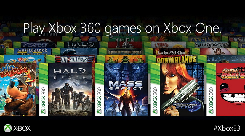 Xbox One compatibility with Xbox 360 games