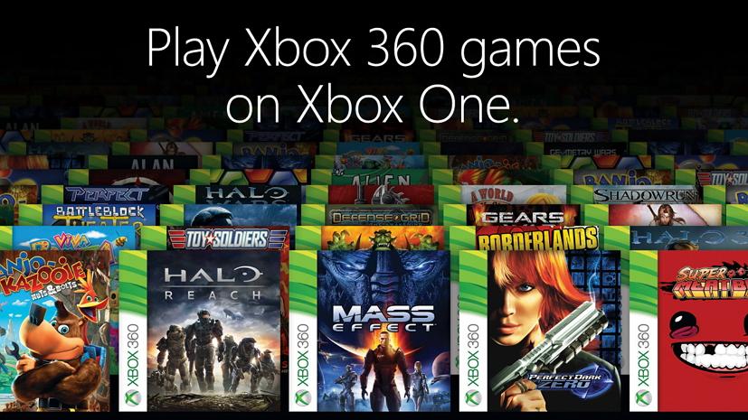 Xbox One backward compatibility game list Xbox 360