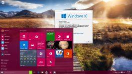 Windows 10 build 10240 desktop