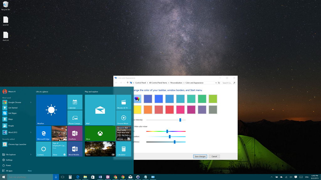 Windows 10 how to create your own custom color accent for Custom design windows