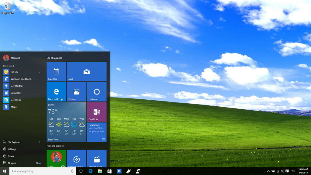 Upgrading Windows XP or Vista to Windows 10
