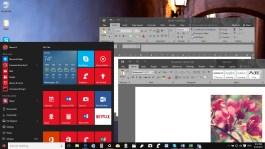 Dark theme in Office 2016 (Windows 10)