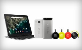 Google: Nexus, Pixel C, Chromecast