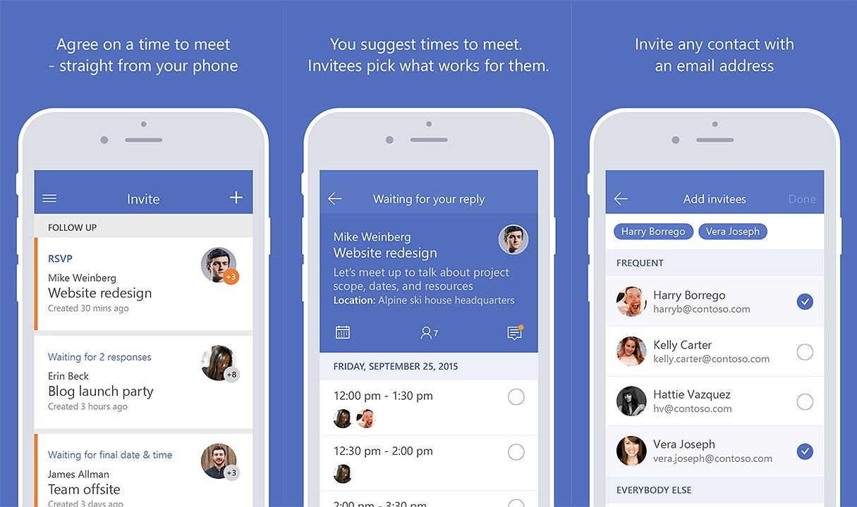 Microsoft's Invite app