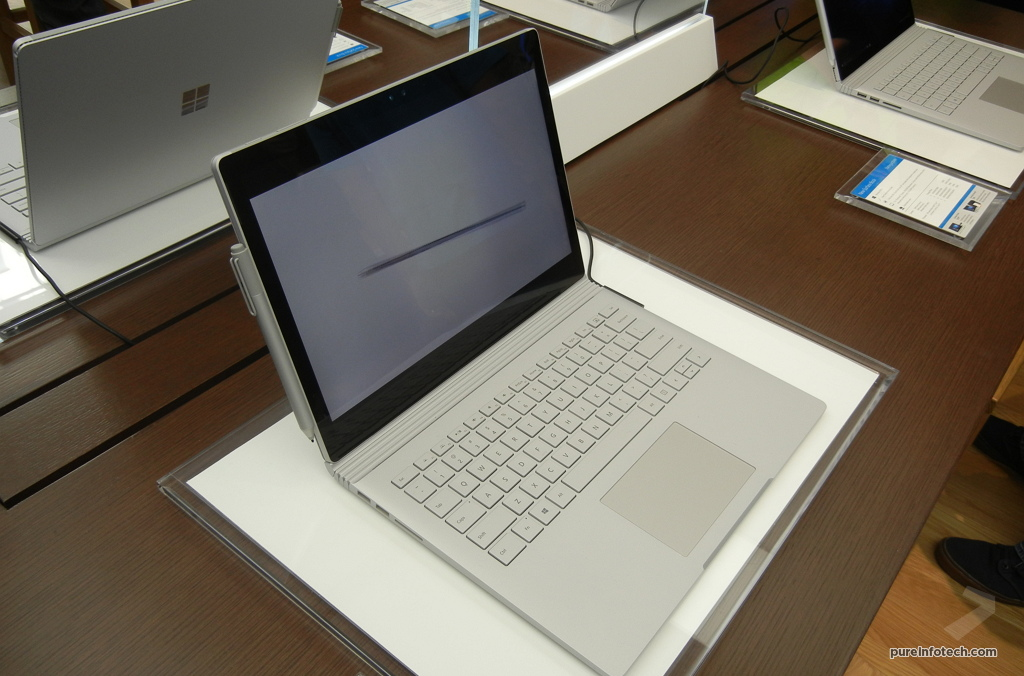 Surface Book laptop with Pen