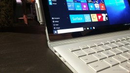 Surface Book left side ports
