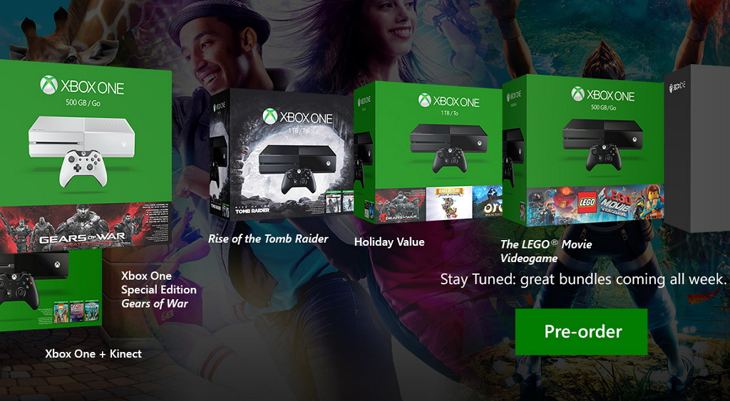 Xbox One holiday bundles offer unmatched value and choice for gamers ...