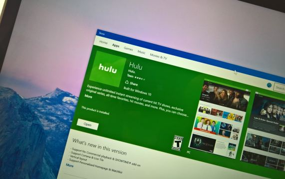 Hulu universal app with Cortana support arrives to Windows 10