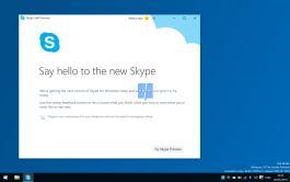 Skype Universal app for Windows 10