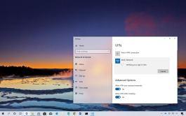 Windows 10 VPN connection