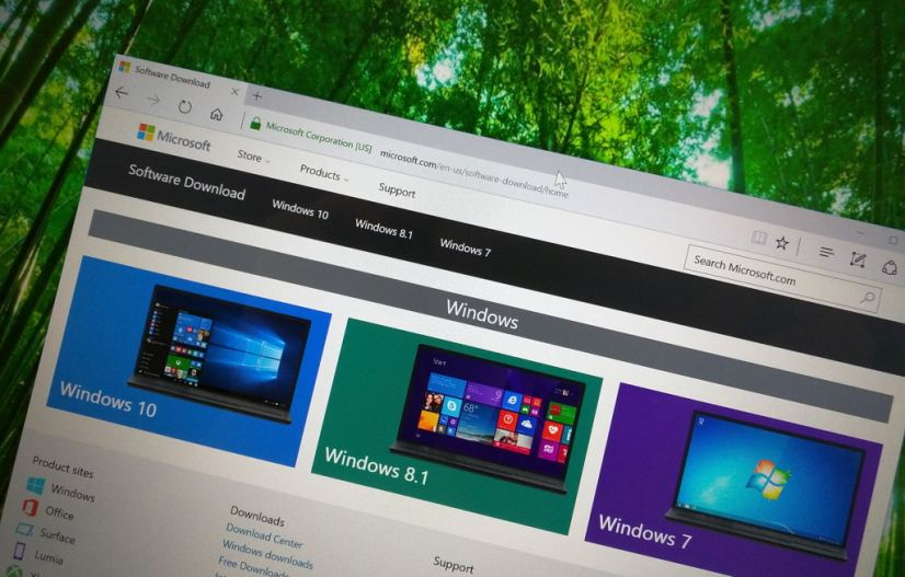 Download the ISO files for any version of Windows