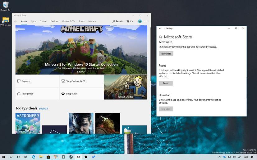 Microsoft Store app to fix problems on Windows 10
