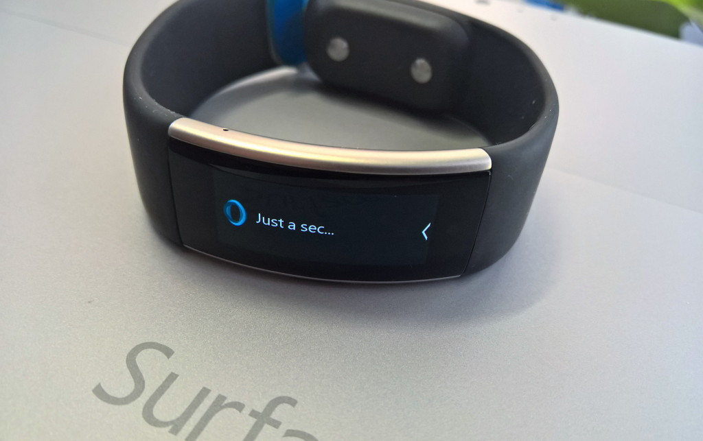 Cortana on Microsoft Band 2 on Android