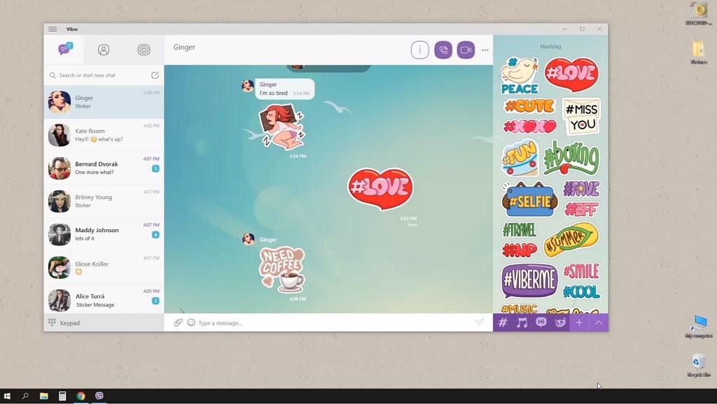 Viber app for Windows 10 download