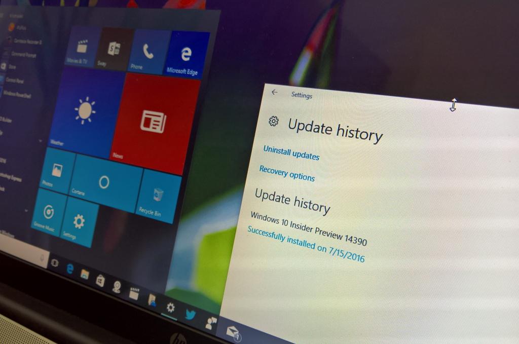 Windows 10 build 14390 update download