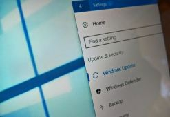 Windows Update settings on Windows 10