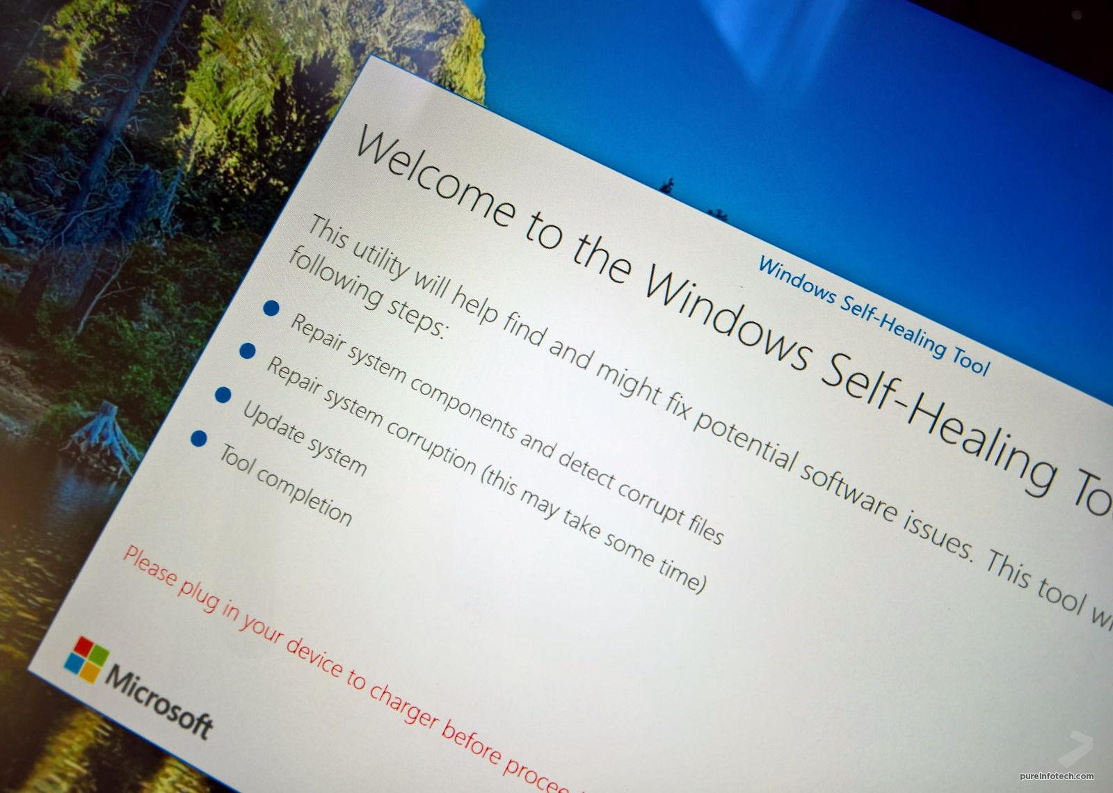 windows 10 self repair